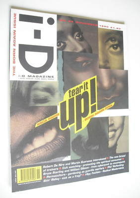 <!--1990-11-->i-D magazine - Mica Paris cover (November 1990 - No 86)