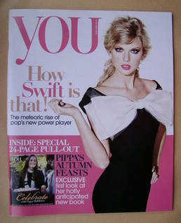 <!--2012-10-21-->You magazine - Taylor Swift cover (21 October 2012)