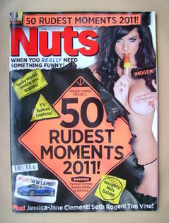 <!--2011-11-25-->Nuts magazine - Imogen Thomas cover (25 November-1 Decembe