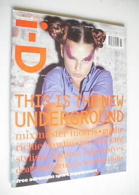 <!--1994-11-->i-D magazine - Bridget Hall cover (November 1994 - No 134)