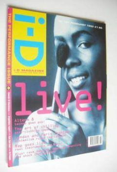 i-D magazine - Christie cover (February 1992 - No 101)