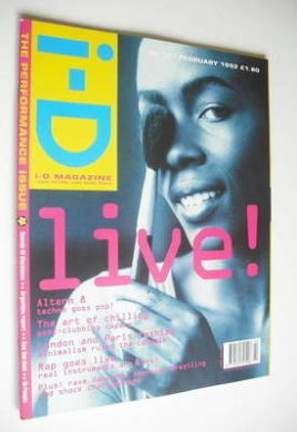 <!--1992-02-->i-D magazine - Christie cover (February 1992 - No 101)