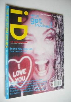 i-D magazine - N'Dea Davenport cover (April 1992 - No 103)