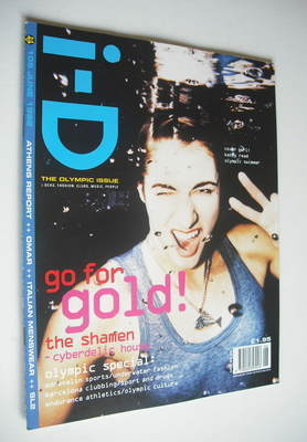 <!--1992-06-->i-D magazine - Kathy Read cover (June 1992 - No 105)