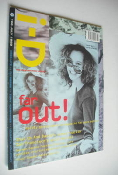i-D magazine - Sarah Wietzel cover (July 1992 - No 106)