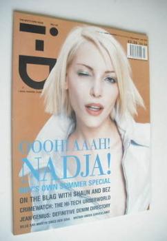 i-D magazine - Nadja Auermann cover (July 1995 - No 142)