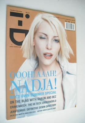 <!--1995-07-->i-D magazine - Nadja Auermann cover (July 1995 - No 142)