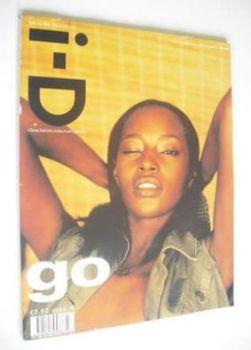 i-D magazine - Kiara cover (July 1998 - No 177)
