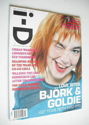 <!--1996-07-->i-D magazine - Bjork cover (July 1996 - No 154)
