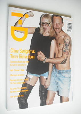 <!--2003-07-->i-D magazine - Chloe Sevigny and Terry Richardson cover (July
