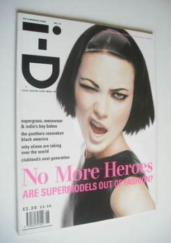 i-D magazine - Shalom Harlow cover (June 1995 - No 141)