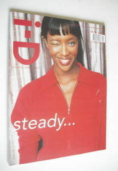 i-D magazine - Naomi Campbell cover (January/February 1998 - No 172)