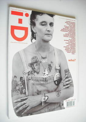 <!--1998-03-->i-D magazine - La Vera Chapel cover (March 1998 - No 173)