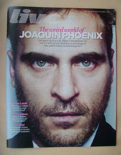 <!--2012-10-21-->Live magazine - Joaquin Phoenix cover (21 October 2012)