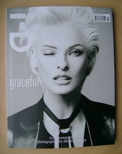 i-D magazine - Linda Evangelista cover (Fall 2012 - Issue 321)