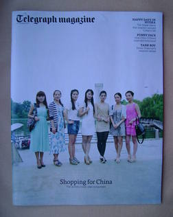 <!--2012-10-27-->Telegraph magazine - Shopping For China cover (27 October