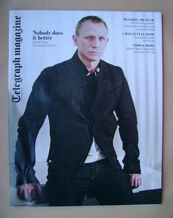 <!--2012-10-20-->Telegraph magazine - Daniel Craig cover (20 October 2012)