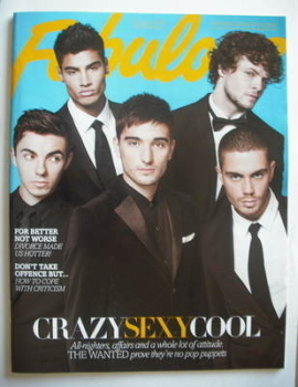 Fabulous magazine - The Wanted cover (4 November 2012 - Collectors Edition 2)