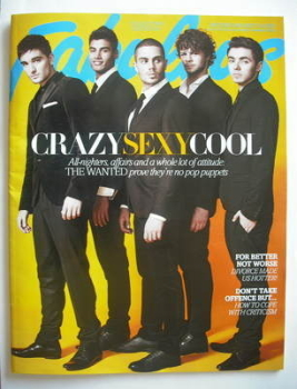 Fabulous magazine - The Wanted cover (4 November 2012 - Collectors Edition 1)