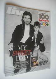 <!--2012-11-04-->Live magazine - George Harrison and son Dhani cover (4 Nov