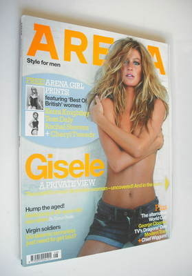 <!--2006-08-->Arena magazine - August 2006 - Gisele Bundchen cover