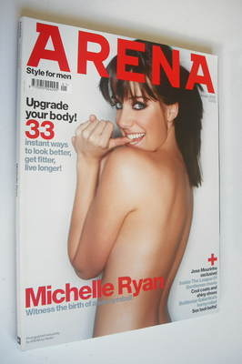 <!--2005-01-->Arena magazine - January 2005 - Michelle Ryan cover