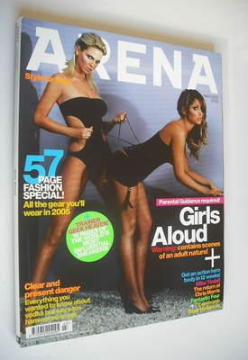 <!--2005-03-->Arena magazine - March 2005 - Cheryl Cole and Sarah Harding c