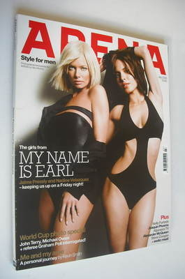 <!--2006-07-->Arena magazine - July 2006 - Jaime Pressly and Nadine Velazqu