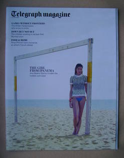 <!--2012-06-02-->Telegraph magazine - Ana Beatriz Barros cover (2 June 2012