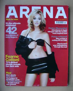 <!--2006-01-->Arena magazine - January 2006 - Fearne Cotton cover