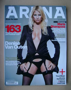 <!--2005-07-->Arena magazine - July 2005 - Denise Van Outen cover