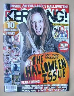 <!--2012-11-03-->Kerrang magazine - Matt Tuck cover (3 November 2012 - Issu