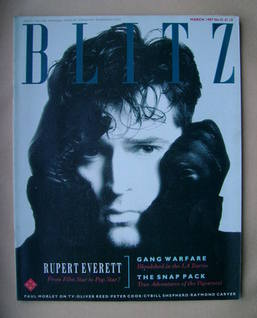 <!--1987-03-->Blitz magazine - March 1987 - Rupert Everett cover