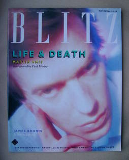 <!--1987-05-->Blitz magazine - May 1987 - Martin Amis cover