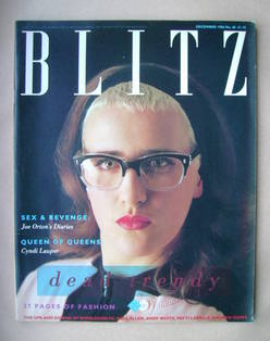<!--1986-12-->Blitz magazine - December 1986