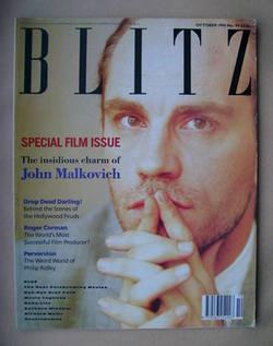 <!--1990-10-->Blitz magazine - October 1990 - John Malkovich cover (No. 94)