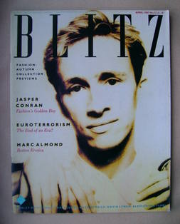 <!--1987-04-->Blitz magazine - April 1987 - Jasper Conran cover