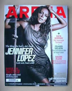 <!--2007-11-->Arena magazine - November 2007 - Jennifer Lopez cover
