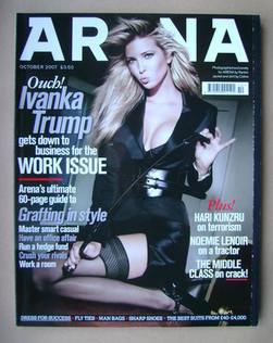 <!--2007-10-->Arena magazine - October 2007 - Ivanka Trump cover
