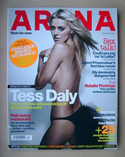 <!--2006-04-->Arena magazine - April 2006 - Tess Daly cover