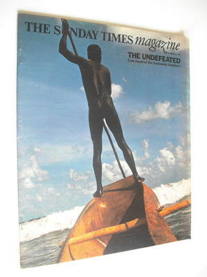 <!--1975-09-14-->The Sunday Times magazine - The Undefeated cover (14 Septe