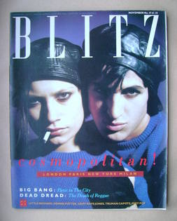 <!--1986-11-->Blitz magazine - November 1986 (Issue 47)