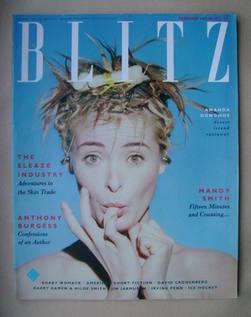 <!--1987-02-->Blitz magazine - February 1987 - Amanda Donohoe cover