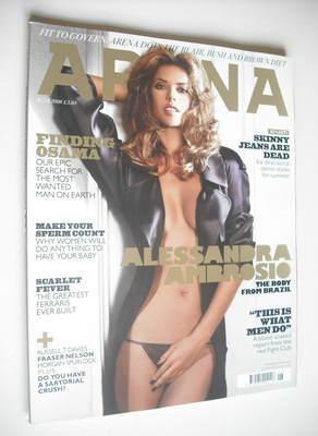 <!--2008-06-->Arena magazine - June 2008 - Alessandro Ambrosio cover