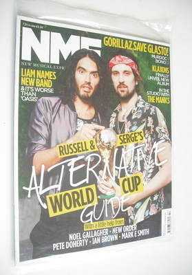 <!--2010-06-05-->NME magazine - Russell & Serge cover (5 June 2010)