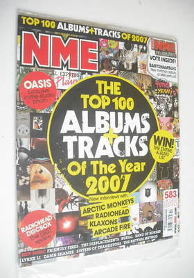 <!--2007-12-15-->NME magazine - The Top 100 Album Tracks Of The Year cover