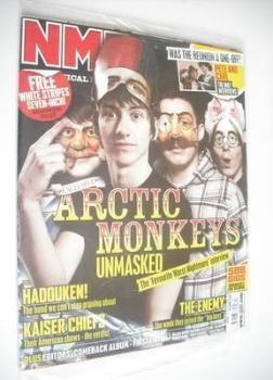 NME magazine - Arctic Monkeys cover (28 April 2007)