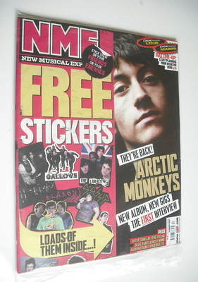 <!--2007-03-24-->NME magazine - Arctic Monkeys cover (24 March 2007)