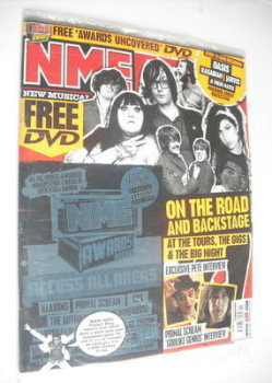 NME magazine - On The Road And Backstage cover (17 March 2007)