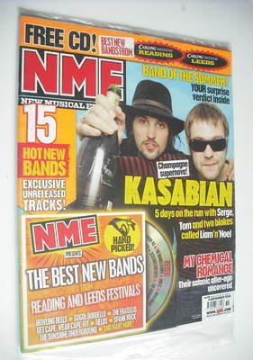 <!--2006-09-09-->NME magazine - Kasabian cover (9 September 2006)